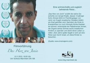 """Filmvorführung """"Das Herz von Janin"""""""