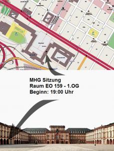 Wegbeschreibung MHG Sitzung